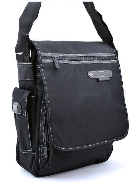 c84d155053785 Czarna torba męska na ramię laptop do szkoły na studia a4 • Arena.pl