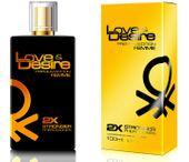 Feromony Love Desire GOLD - MOCNE FEROMONY 100ML zdjęcie 3