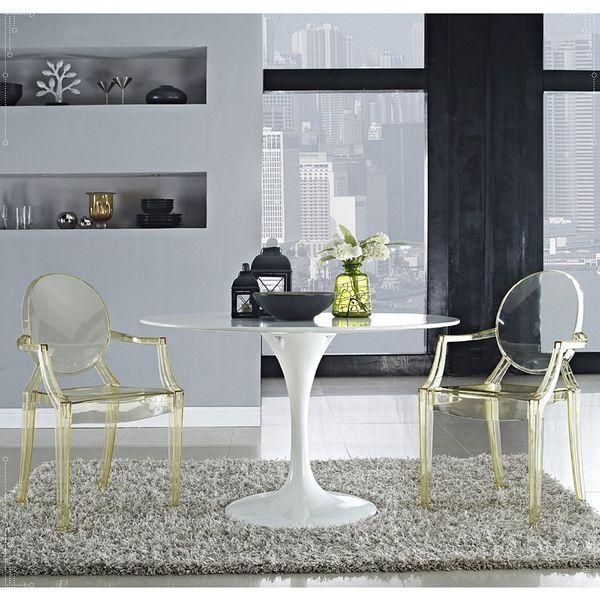 Krzesło Dankor Design Louis Ghost przezroczysty zdjęcie 7