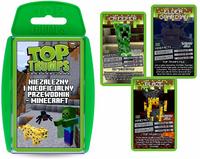 KARTY Top Trumps NIEZALEŻNY PRZEWODNIK Minecraft Gra Karciana