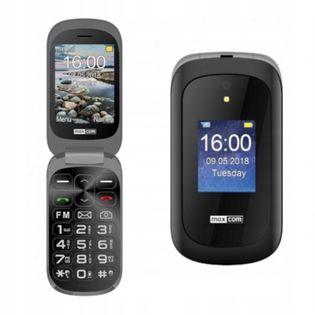 Telefon z klapką Maxcom MM825 czarny