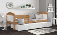 Łóżko MATEUSZ P2 190x80 wysuwane + szuflada + materace