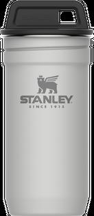Kieliszki stalowe w etui ADVENTURE 4 x 60 ml Stanley białe