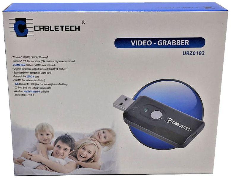 Video-Grabber USB przechwytywanie video Cabletech URZ0192 zdjęcie 7