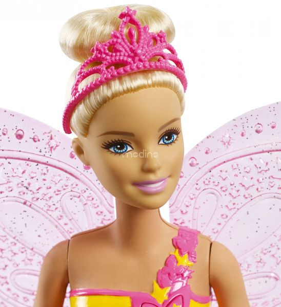 Lalka Barbie Wróżka Latające Skrzydełka Dreamtopia Mattel FRB08 zdjęcie 2