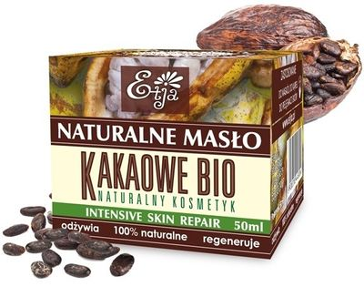 Etja Naturalne Masło Kakaowe Bio 50Ml