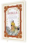 BIBLIA DLA DZIECI 365 HISTORII z grawerem PAMIĄTKA CHRZTU KOMUNII