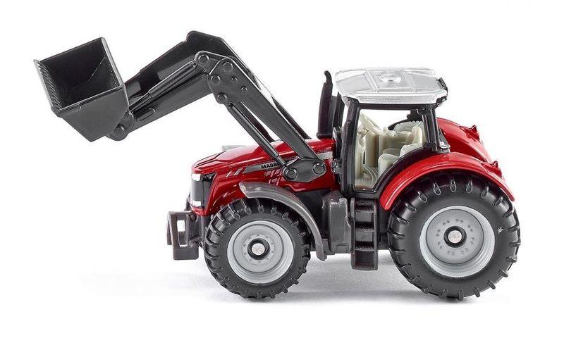 Traktor Massey Ferguson z przednią ładowarką zdjęcie 1
