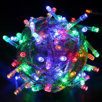 L11 LAMPKI CHOINKOWE SUPER JAKOŚĆ 4 KOLORY 200 LED