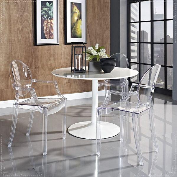 Krzesło Dankor Design Louis Ghost przezroczysty zdjęcie 9