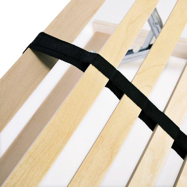 Stelaż Do łóżka Z 28 Listwami Drewno Fsc 7 Stref 120x200 Cm Gxp 680211