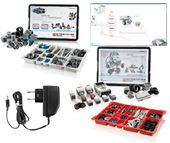 LEGO MINDSTORMS EDU 45544 + 45560 +ZASILACZ + SOFT
