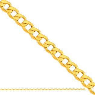 50cm łańcuszek typu Pancerka złoto 585