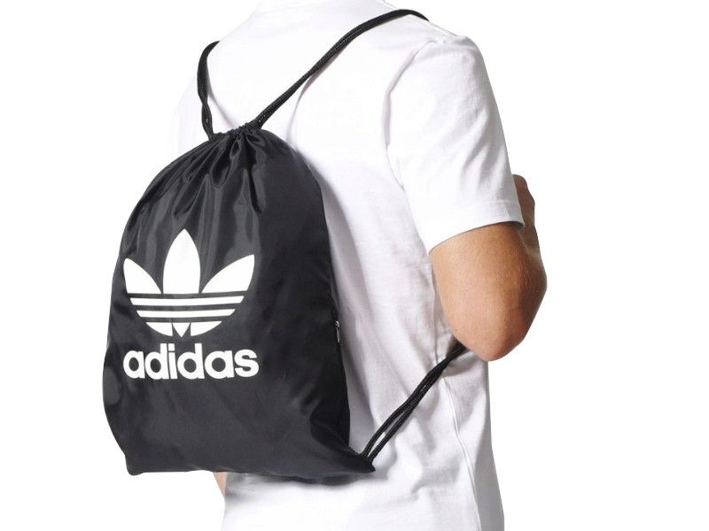 Plecak Worek do szkoły na buty Adidas BK6726 z kieszonką na Arena.pl