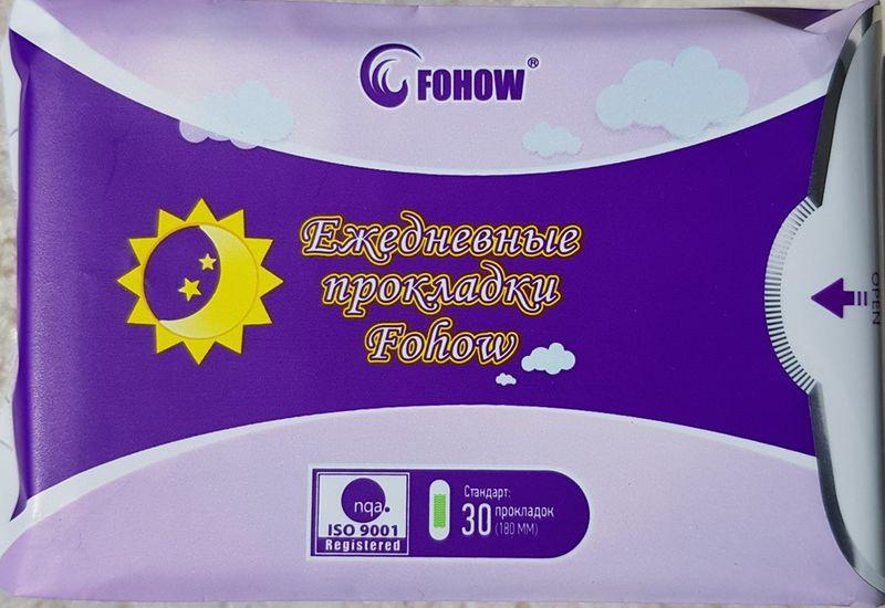 FOHOW wkładki higieniczne 30 sztuk (1 opakowanie) na Arena.pl