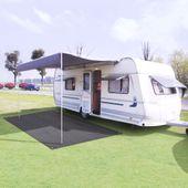 Dywan namiotowy, 250 x 300 cm, antracytowy GXP-680211