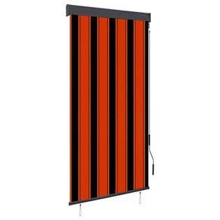 Roleta zewnętrzna, 80x250 cm, pomarańczowo-brązowa
