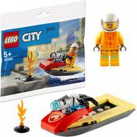 LEGO City Strażacki skuter wodny 30368