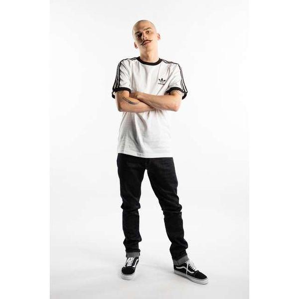 adidas 3 STRIPES TEE 203 WHITE XL zdjęcie 2
