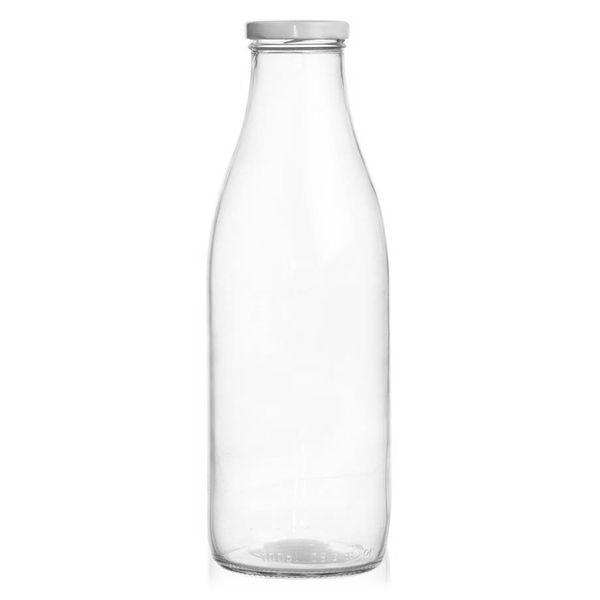Butelka szklana NA MLEKO 1L do mleka na Arena.pl