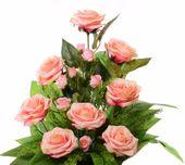 Wiązanka kompozycja herbaciana róża +bukiet zdjęcie 3