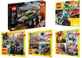 TECHNIC 42065 STEROWANA WYŚCIGÓWKA + 4 LEGO KATALO