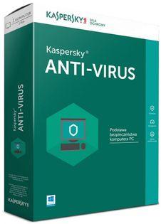 Kaspersky Anti-Virus 3U-2Y Kontynuacja Esd