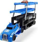 Dickie transporter aut niebieski + autko