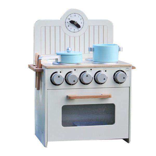Drewniana Kuchnia Dla Dzieci MINI - ZESTAW NOWOŚĆ zdjęcie 1