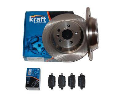 KRAFT tarcze + klocki Ford MONDEO IV mk4 tył