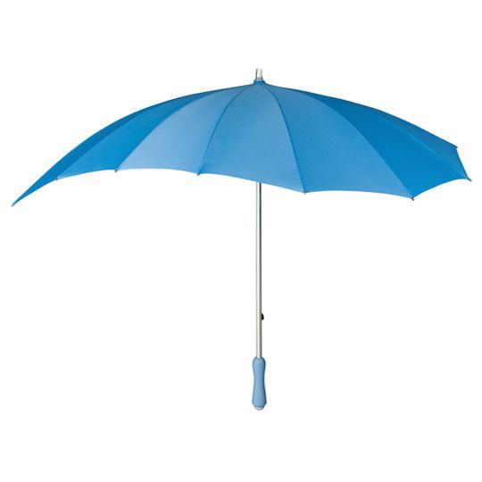 Parasolka w kształcie serca w kolorze błękitnym zdjęcie 2