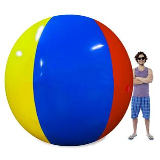 Piłka plażowa gigant 200 cm pcv 0,2 mm