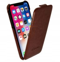 Etui z Klapką Skóra do Apple iPhone X, iPhone Xs