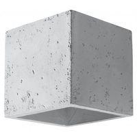 Nowoczesny Designerski Kinkiet QUAD Beton Lampa Ścienna SOLLUX SL.0487
