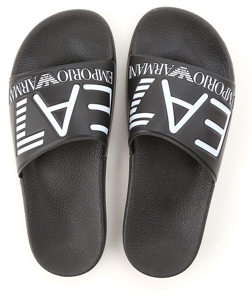641133aa1036d Klapki Armani Emporio męskie buty EA7 sandały markowe na basen 41-46  zdjęcie 1