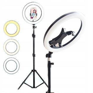 Ring Lampa pierścieniowa LED na tablet i telefon