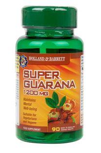 Super Guarana, 1200mg - 90 caplets Holland & Barrett