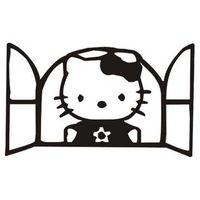 Szablon malarski D 57, kot, dla dzieci, kotek, kitty, D57 Rozmiar - S, Szablon - Samoprzylepny, Odbicie lustrzane - Tak