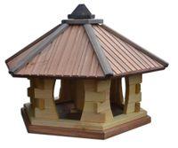 Karmnik dla ptaków Drew-Handel KW70-1T TIK karmnik z drewna iglastego odpornego na warunki atmosferyczne