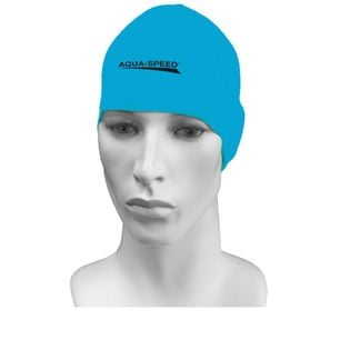 Czepek pływacki treningowy RACER Kolor - Czepki - Racer - 30 - jasnoniebieski