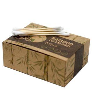 Pudełko 200 Bambusowych patyczków higienicznych