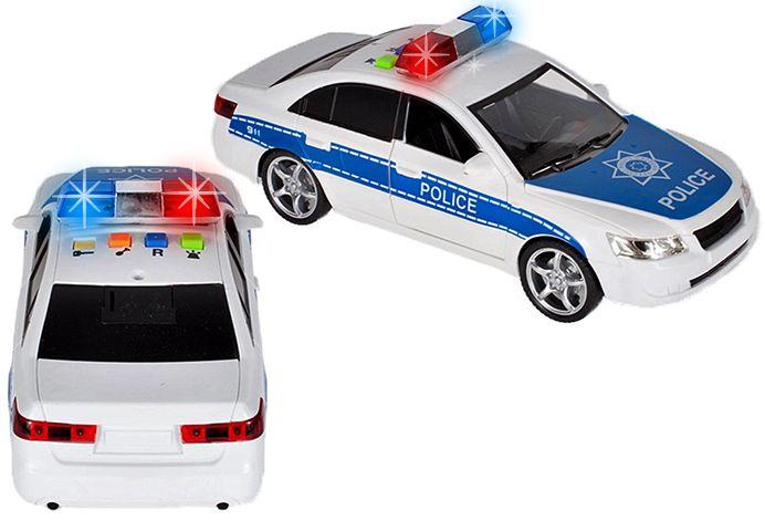 Samochód policyjny Radiowóz interaktywny dźwięki i światła Y260 zdjęcie 8
