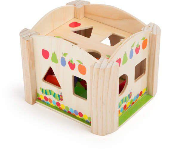 Sorter drewniany dla dzieci - Głodna gąsienica zdjęcie 2