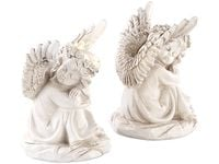 Rzeźba solarna śpiące aniołki Lunartec