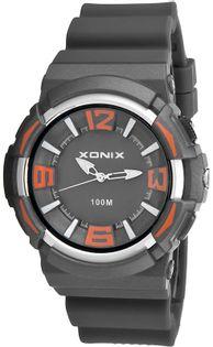 Xonix Zegarek wskazówkowy, unisex, czytelna tarcza, podświetlenie, WR 100M, antyalergiczny