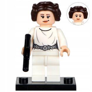 MEGA figurka Star Wars LEILA ORGANA +karta lego