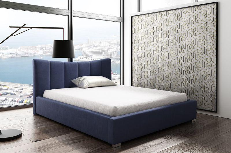 GOLDEN 6 łóżko tapicerowane 140x200 zdjęcie 1