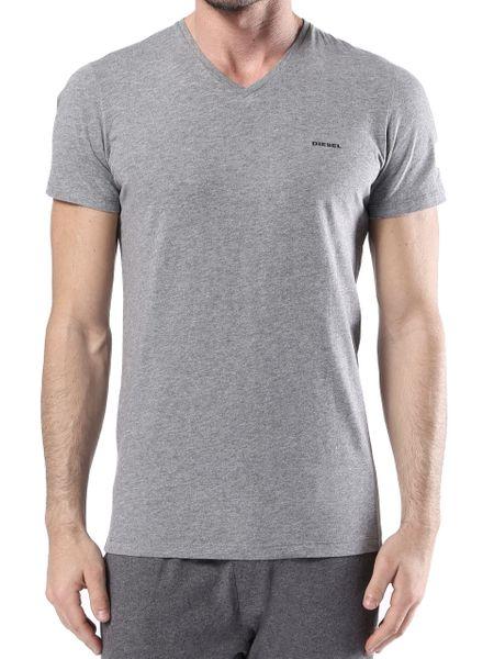 DIESEL UMTEE SHIRT JAKE V-NECK 3-PACK White/Grey/Black 00SPDM-0AALW-01 - XL zdjęcie 2