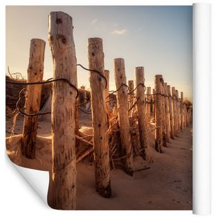 Fototapeta 3D Plaża MORZE Piasek Wydmy do Salonu 90x60