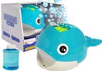 Maszyna Do Puszczania Baniek Wieloryb Niebieska + Płyn